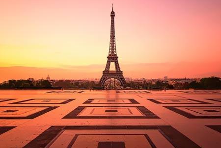 La Tour Eiffel face au Trocadéro