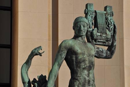 Le Trocadéro, lieu d'art et d'architecture