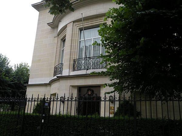 Quartier des ambassades : L'ambassade de la Principauté de Monaco