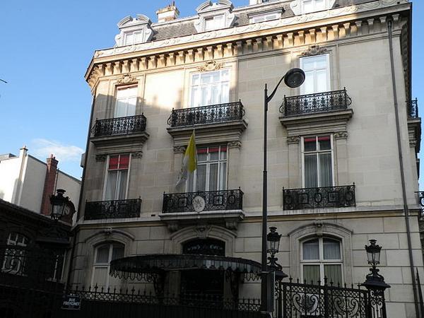 embassy district Paris : Apostolic Nunciature