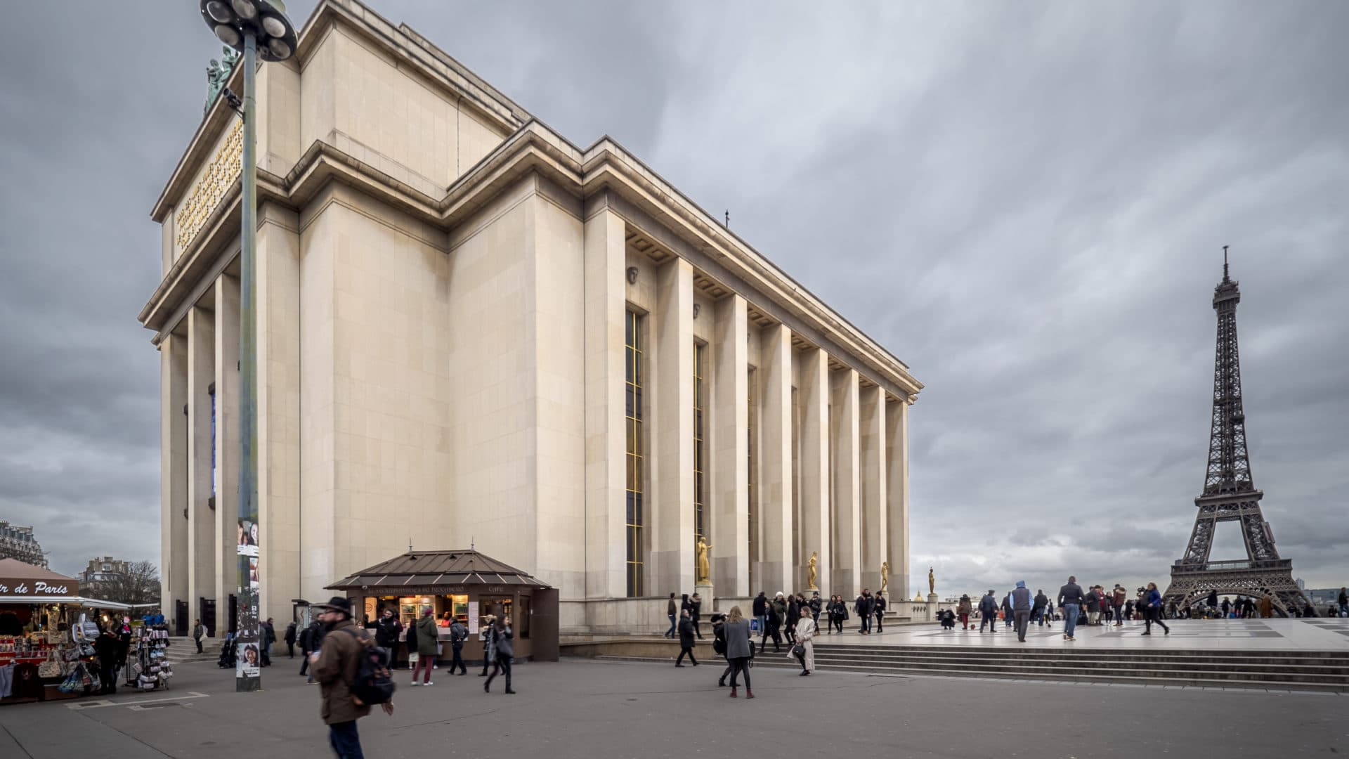 Le théâtre national de Chaillot à Paris  BEST WESTERN Hôtel Au